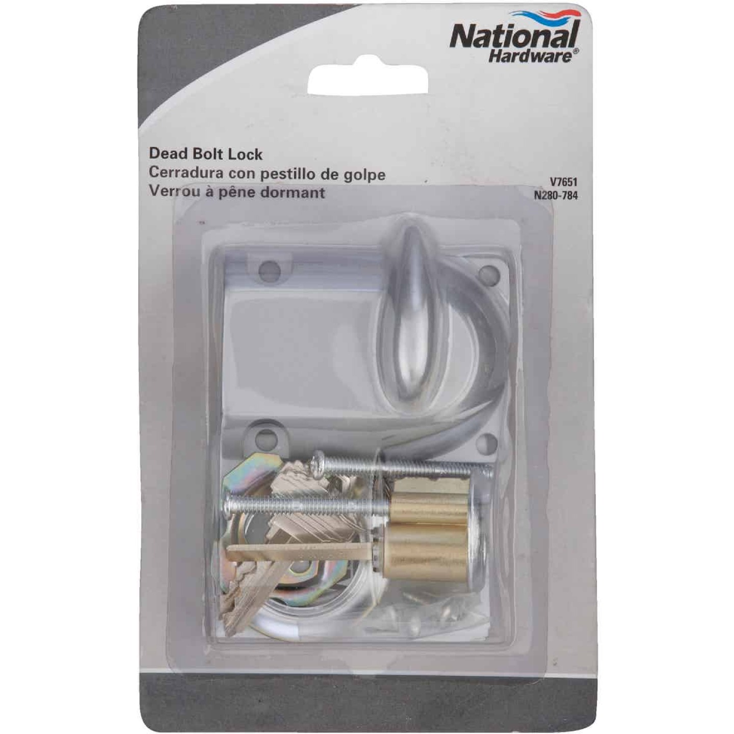 National Garage Door Deadbolt Lock Image 2