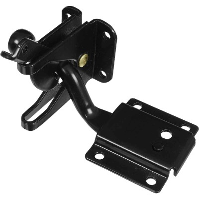 National 4 In. Black MaxLatch Sag Compensating Latch