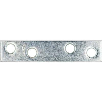National Catalog 118 3 In. x 5/8 In. Zinc Steel Mending Brace