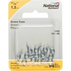 National #216-1/2 Zinc Small Screw Eye (14 Ct.) Image 2