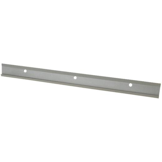 FreedomRail 42 In. Nickel Horizontal Hanging Rail with Cover