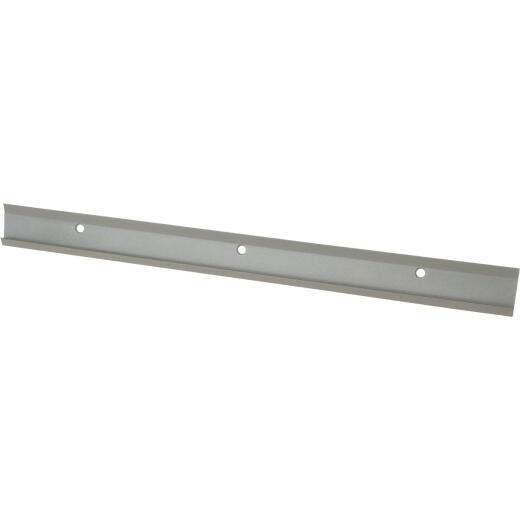 FreedomRail 24 In. Nickel Horizontal Hanging Rail with Cover