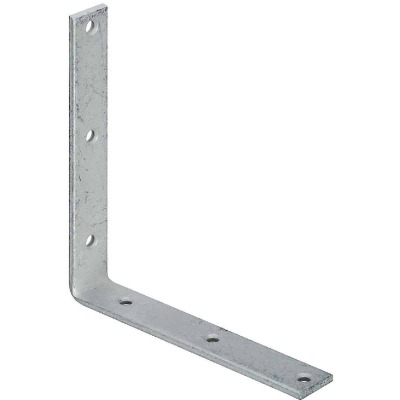 National Catalog 115 8 In. x 1-1/4 In. Galvanized Corner Brace