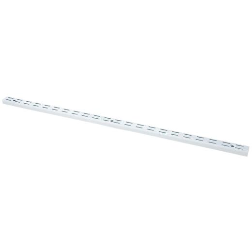 FreedomRail 48 In. White Standard Wall-Mounted Upright