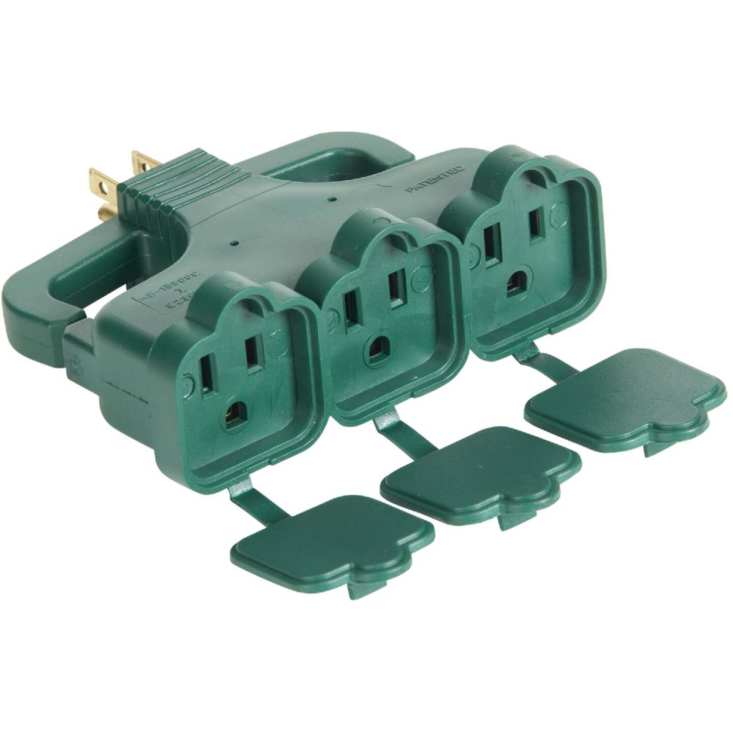 Do it Green 15A 3-Outlet Tap with Rain Cover Image 1